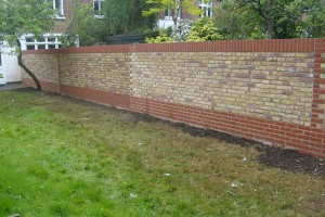 Garden wall – Twickenham