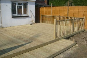 Decking – Oxshott